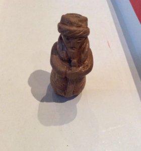 Свистулька глиняная, Горный Алтай, за шоколадку