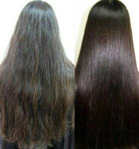 Ламенирование,Ботекс выпрямление волос,