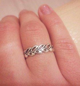 Кольцо серебро,серьги в подарок