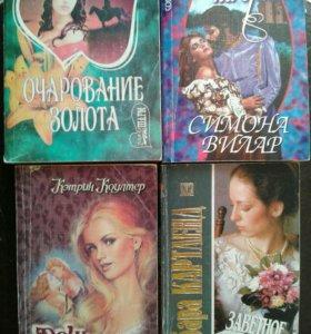 Книги. Любовные романы