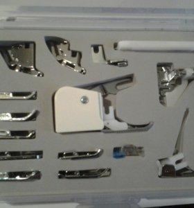 Набор лапок для швейной машины 15 штук.