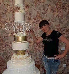Свадебные торты и комплименты для вашего торжества
