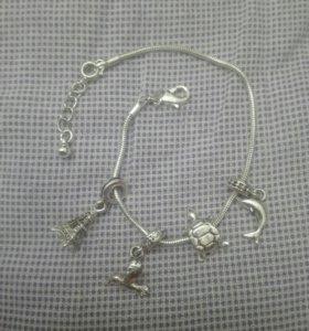 Браслет серебрянный avon