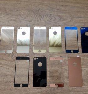 Зеркальные стекла 3d на iPhone 7❗️