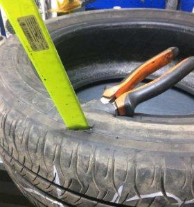 Ремонт шин! Грыжи, боковые порезы любой сложности!