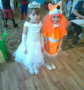 Новогодний костюм лисы