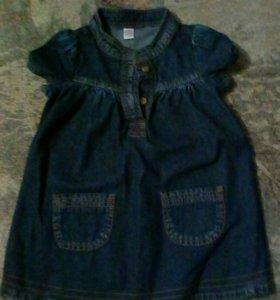 Платье#Детские вещи,на девочку,86...92
