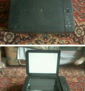 Принтер, сканер и ксерокс (3 в 1)