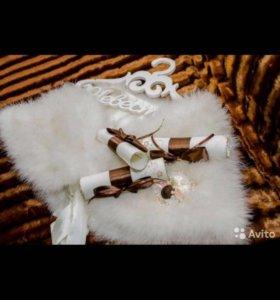Накидка на свадебное или коктельное платье