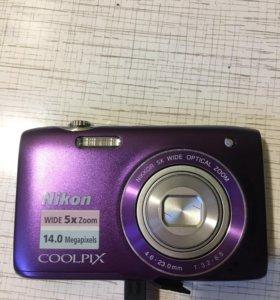 Фотоаппарат Nikon Coolpix 14 megapixels