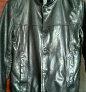 Куртка натуральная кожа осенняя