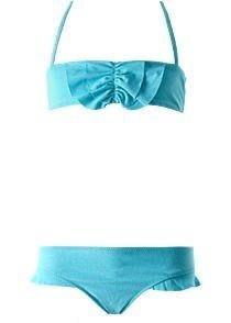 Детский купальник + юбка для девочки, 12-14 лет