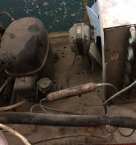 Компрессор,вентилятор и радиатор
