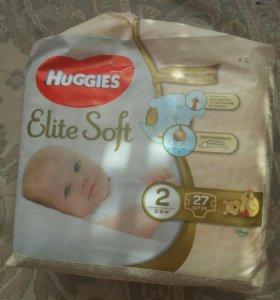 Подгузники Huggies 2(3-6кг)