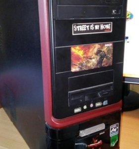 Корпус системного блока + DVD привод