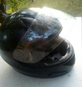 Мото шлем размер м