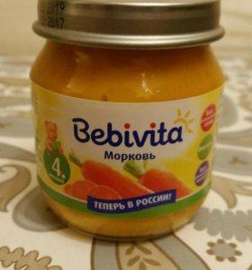 Пюре из моркови Бебивита/Bebivita
