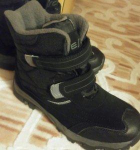 Ботинки Новые зимние 34 размер