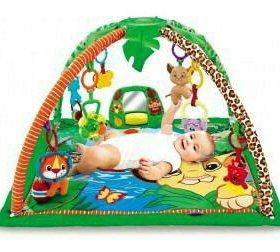 Развивающий музыкальный коврик для малыша, новый