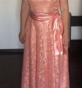 Вечернее шикарное платье!