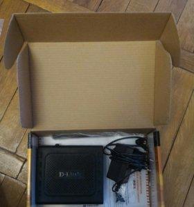 D-LINK DSL-2500 U интернет роутер