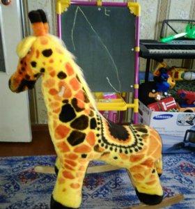 Жираф-качалка
