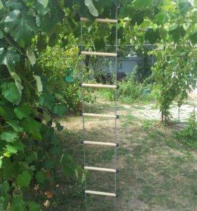 Лестница Веревочная для детей 3-12 лет