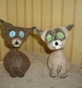 Котики Скай и Грасс