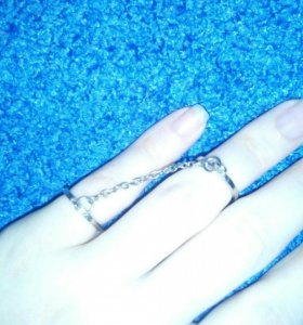 Двойное кольцо новое