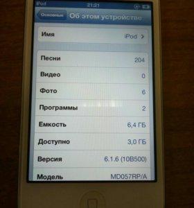 Плеер/Apple iPod Touch 4 8Cb