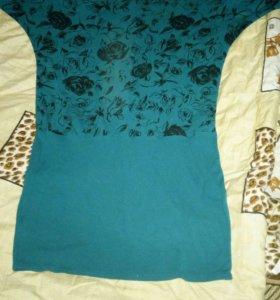 Продам платье. 56размер, цвет бирюзовый.