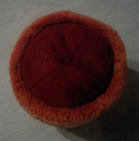 Теплая зимняя меховая шапка