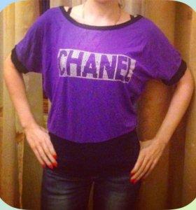 Футболка блуза новая Chanel