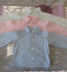 Комплект рубашек (3 шт) на мальчика