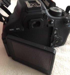 Canon 600d с двумя объективами