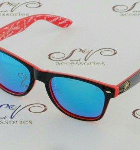 Очки солнцезащитные в стиле Ray Ban