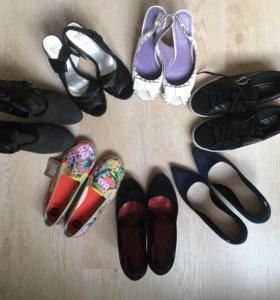 Туфли, кеды, эспадрильи женские 36-38рр