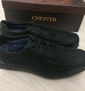 Новые зимние Chester мужские ботинки