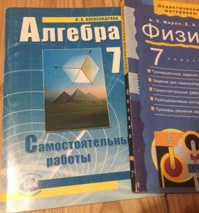 Алгебра и физика 7 класс