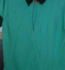 Новая блузка и б/у платье