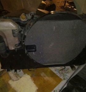 Радиатор на Тойоту Mark II