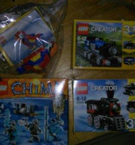 Lego creator 3 в 1  и Lego Chima