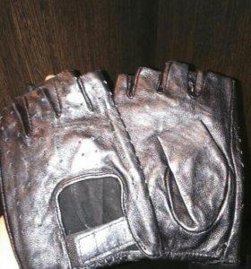 Перчатки обрезанные мужские новые