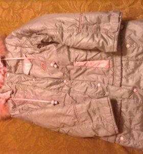 Пальто с подстёжкой