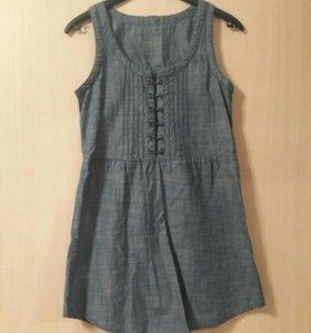 Джинсовое платье/туника