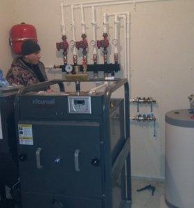 Отопление водоснабжение.