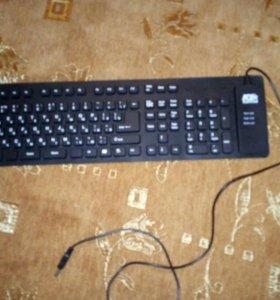 Гибкая офисная клавиатура