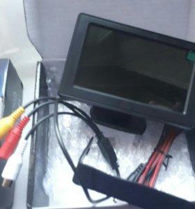 4.3 дюймов TFT жк-монитора автомобиля.