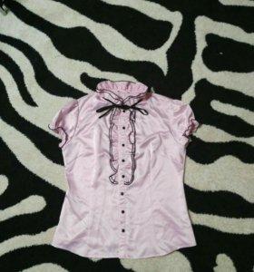 Рубашка нежно розового цвета
