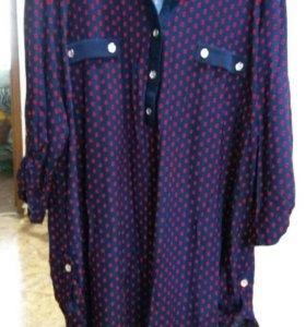Новая рубашка- туника.женская.